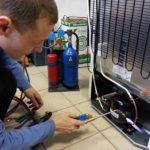 Подготовка к заправке холодильной установки