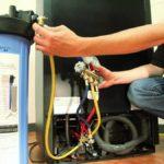Порядок выполнения заправки холодильной установки фреоном