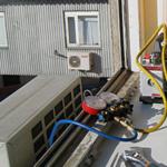 Заправка холодильной установки фреоном
