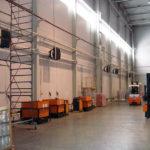 Системы отопления складов