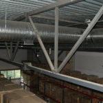 Системы отопления складов и ангаров