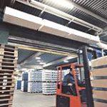 Воздушные и воздушно-тепловые завесы для склада